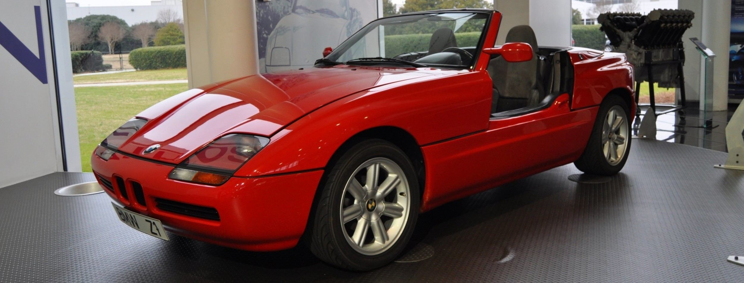 Car-Museums-Showcase-1989-BMW-Z1-at-Zentrum-in-Spartanburg-SC-High-Demand-+-High-Price-Led-Directly-to-US-Built-Z3-7 Stunning Bmw Z1 Hardtop for Sale Cars Trend