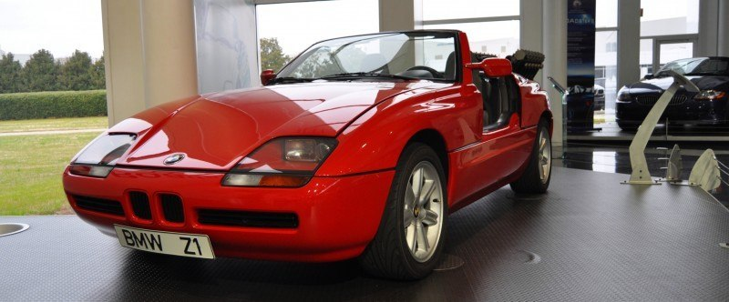 Car Museums Showcase -- 1989 BMW Z1 at Zentrum in Spartanburg, SC -- High Demand + High Price Led Directly to US-Built Z3 8