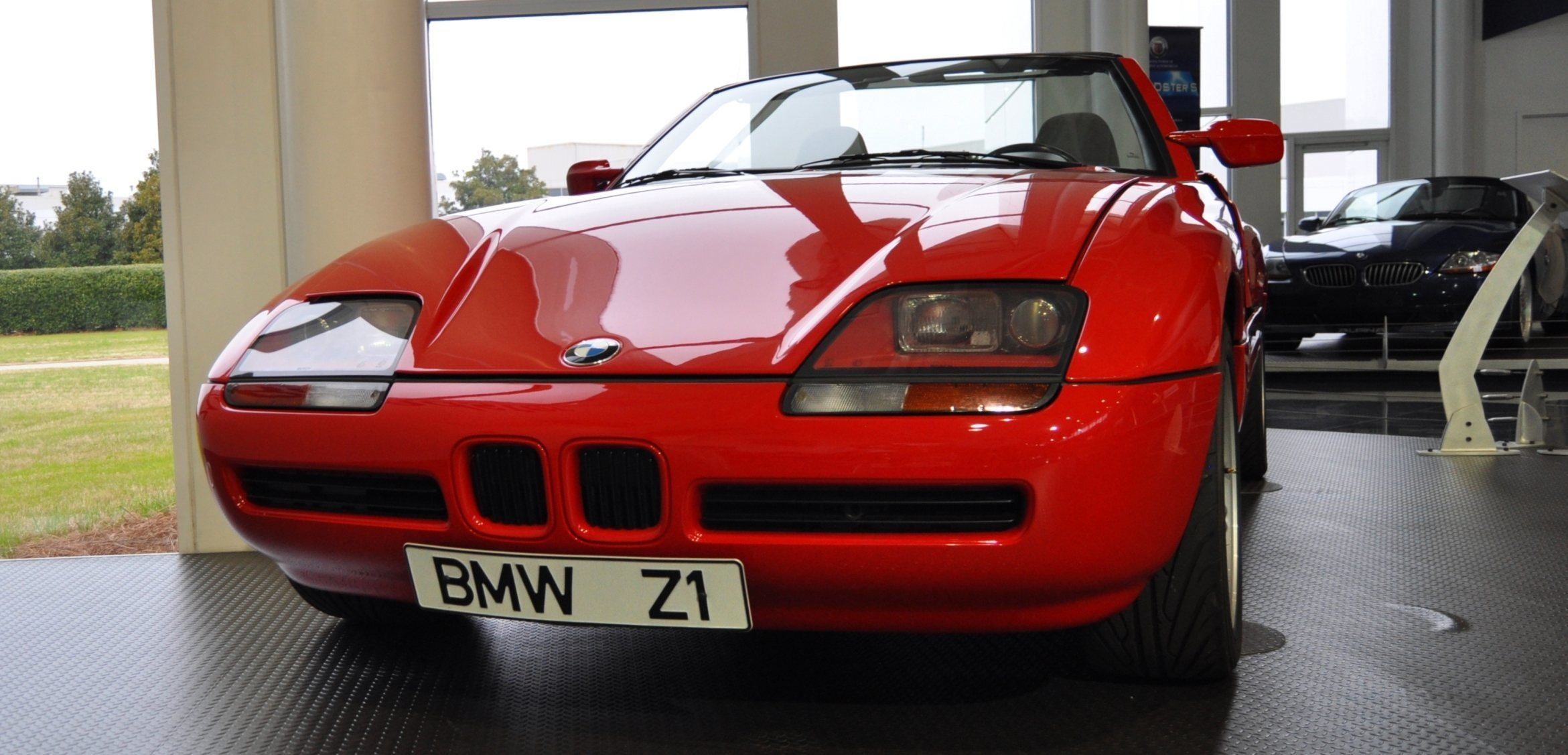 Car-Museums-Showcase-1989-BMW-Z1-at-Zentrum-in-Spartanburg-SC-High-Demand-+-High-Price-Led-Directly-to-US-Built-Z3-9 Stunning Bmw Z1 Hardtop for Sale Cars Trend
