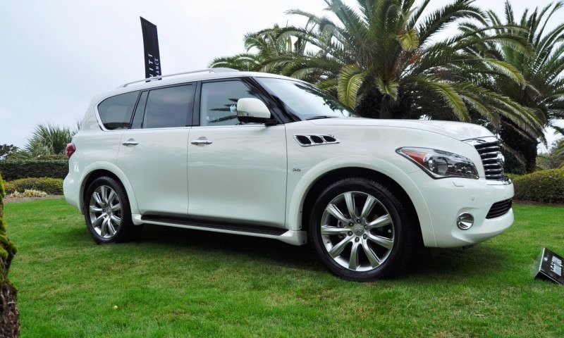 Car-Revs-Daily.com -- 2014 INFINITI QX80 Buyers Guide, Pricing, Colors and Specs 105