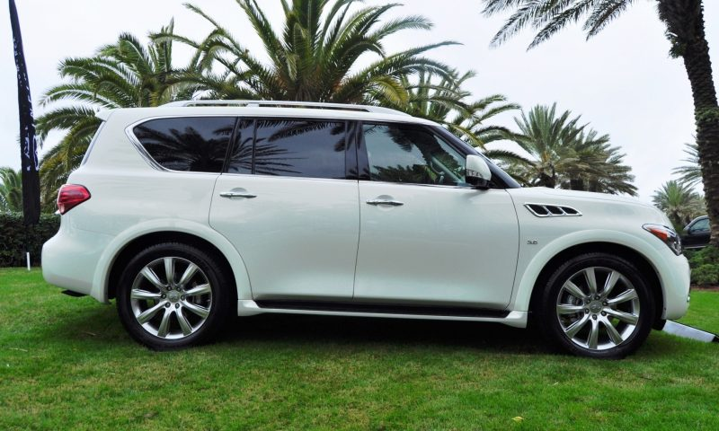 Car-Revs-Daily.com -- 2014 INFINITI QX80 Buyers Guide, Pricing, Colors and Specs 106