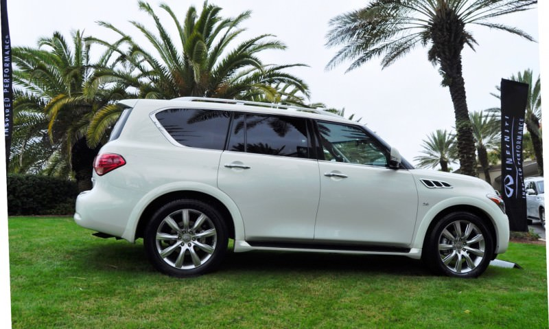 Car-Revs-Daily.com -- 2014 INFINITI QX80 Buyers Guide, Pricing, Colors and Specs 107