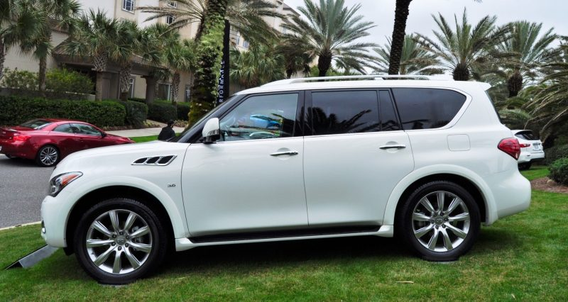 Car-Revs-Daily.com -- 2014 INFINITI QX80 Buyers Guide, Pricing, Colors and Specs 122