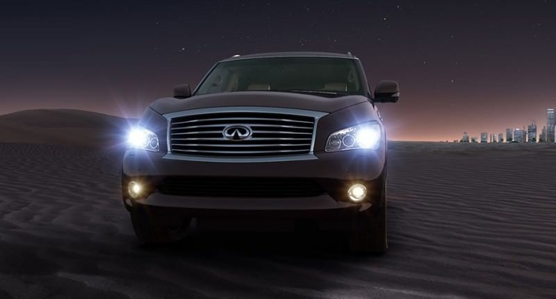 Car-Revs-Daily.com -- 2014 INFINITI QX80 Buyers Guide, Pricing, Colors and Specs 85