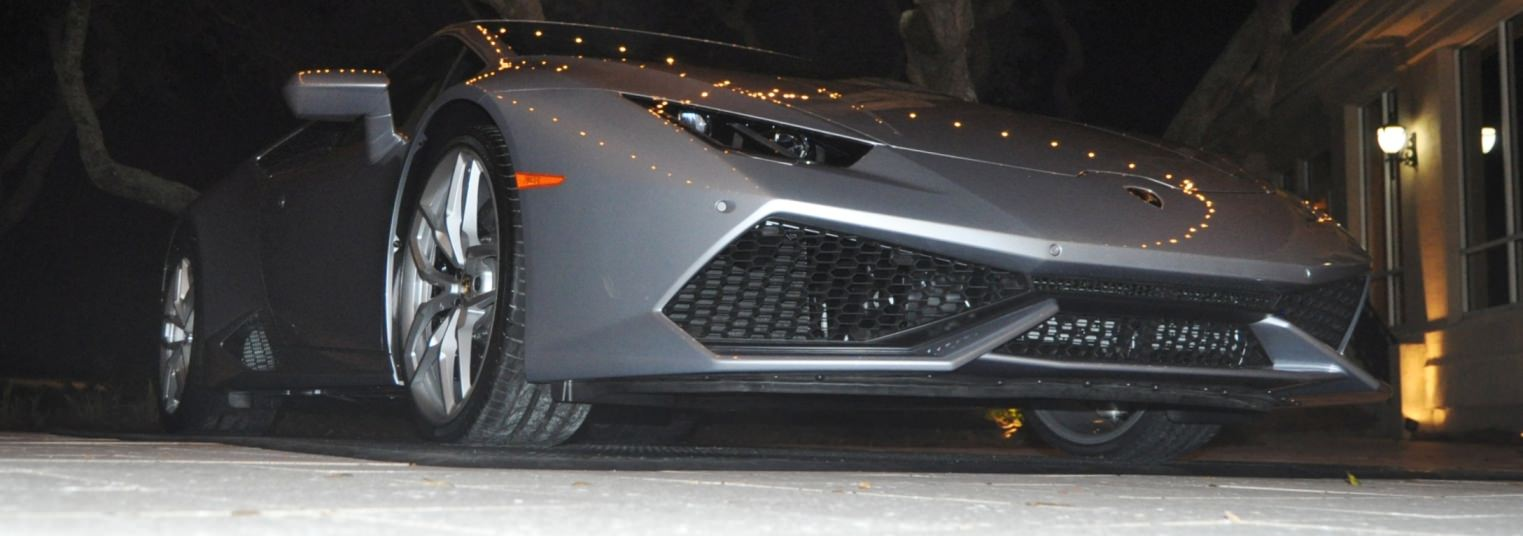Car-Revs-Daily.com -- 2015 Lamborghini Huracan -- Official American Debut 101