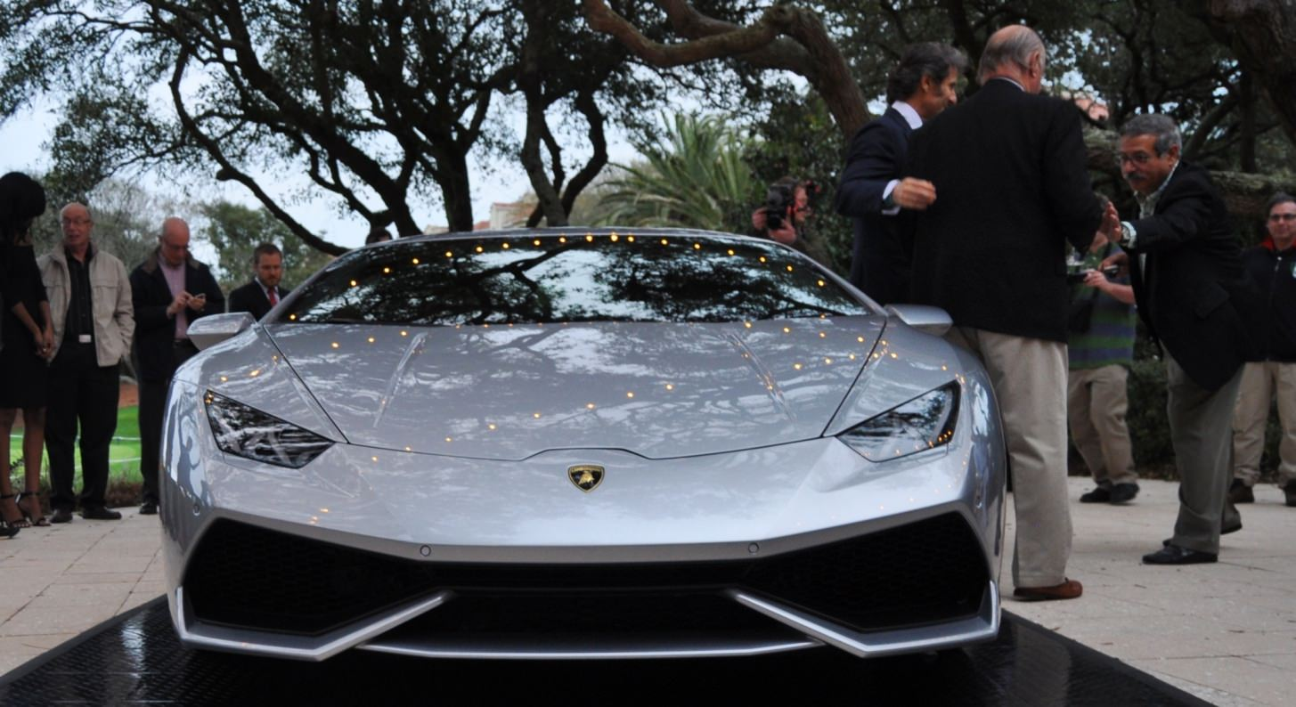 Car-Revs-Daily.com -- 2015 Lamborghini Huracan -- Official American Debut 13