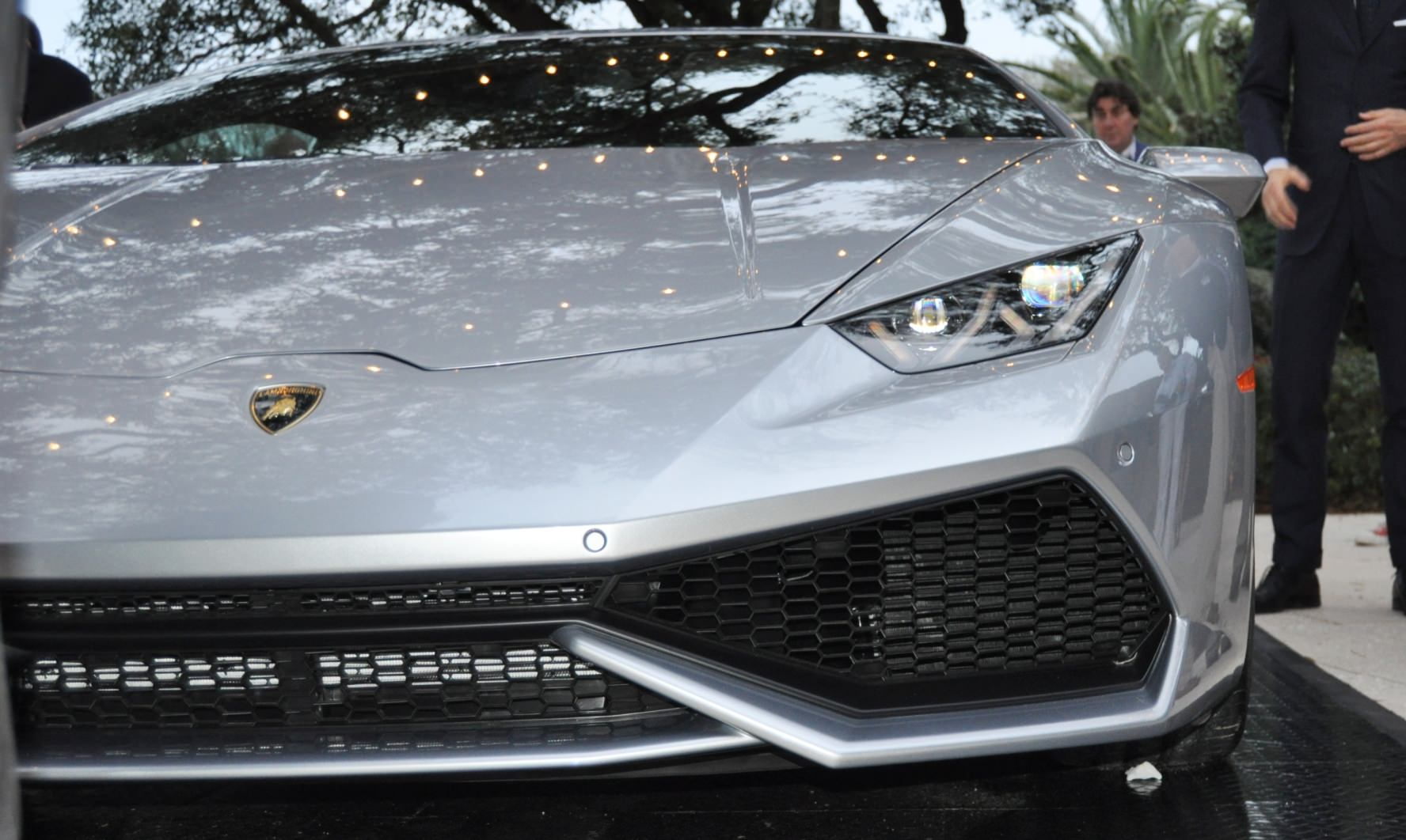 Car-Revs-Daily.com -- 2015 Lamborghini Huracan -- Official American Debut 14