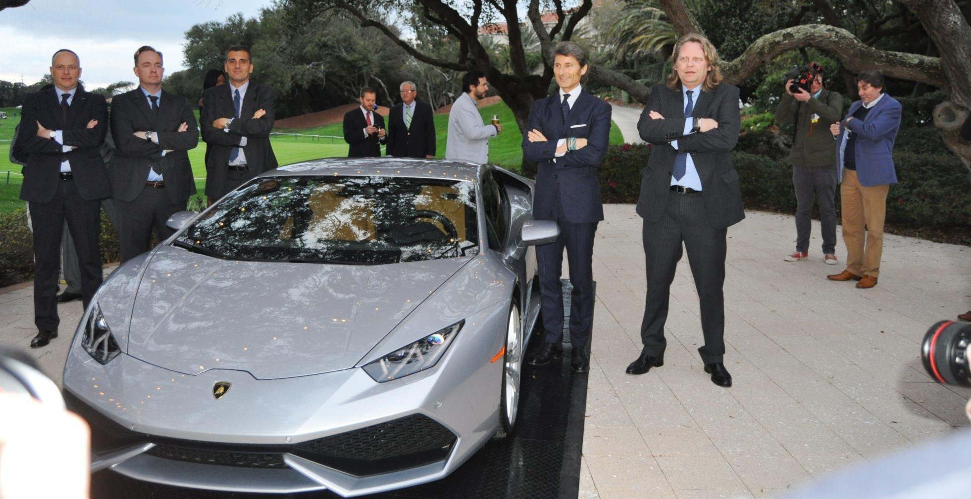 Car-Revs-Daily.com -- 2015 Lamborghini Huracan -- Official American Debut 15