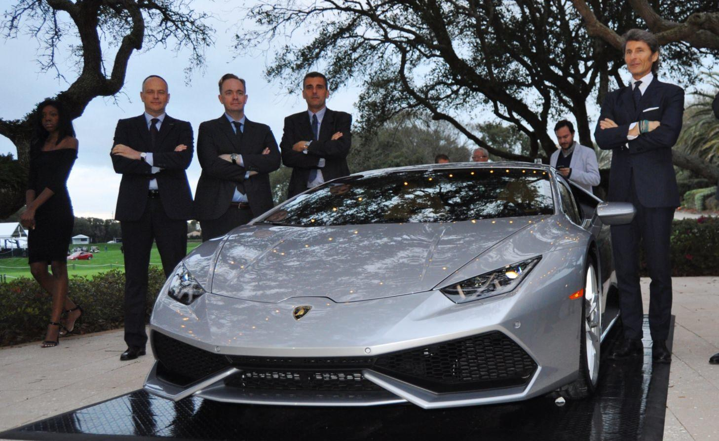 Car-Revs-Daily.com -- 2015 Lamborghini Huracan -- Official American Debut 16
