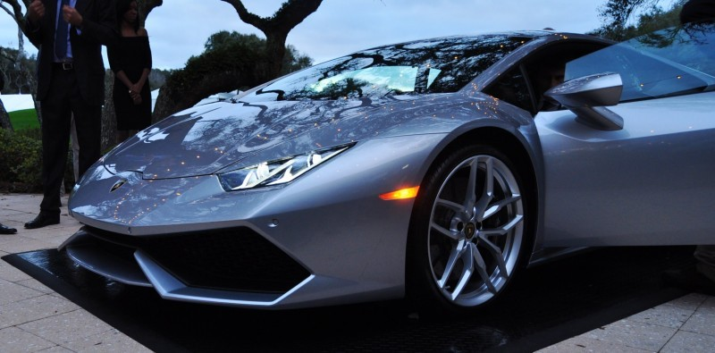 Car-Revs-Daily.com -- 2015 Lamborghini Huracan -- Official American Debut  21