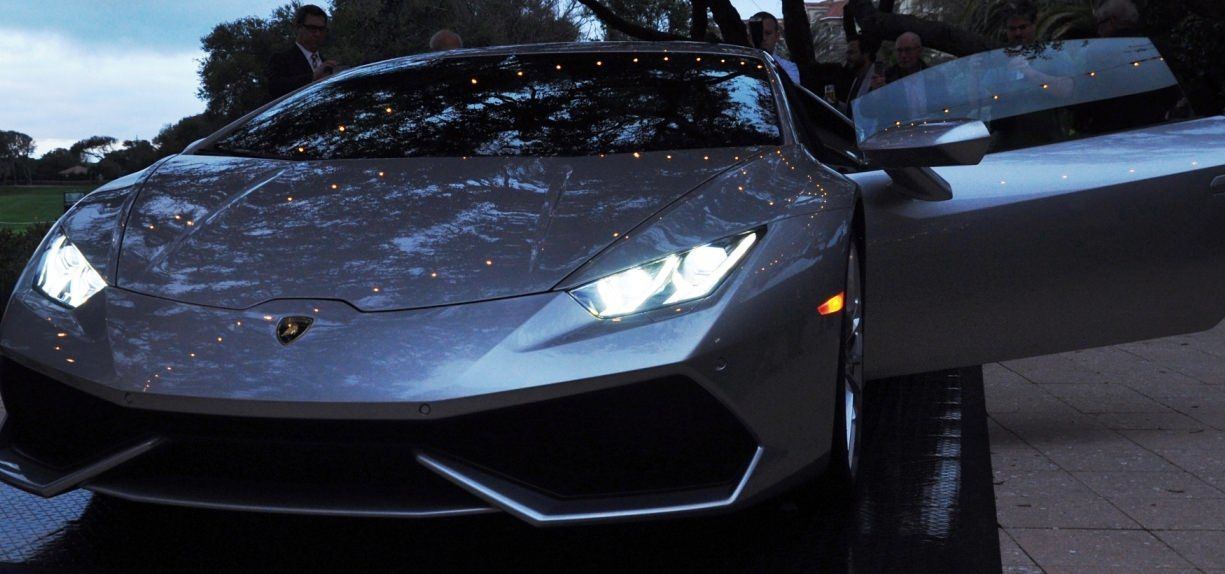 Car-Revs-Daily.com -- 2015 Lamborghini Huracan -- Official American Debut 22