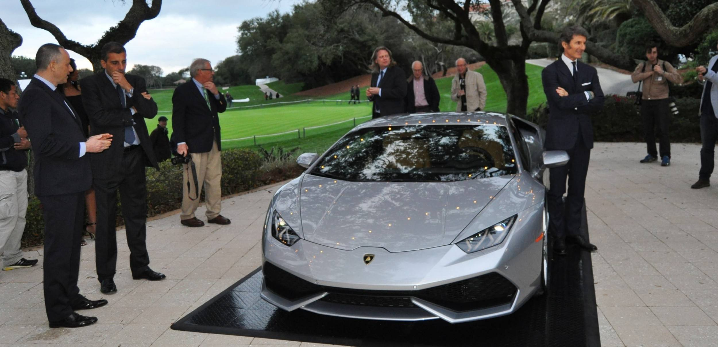 Car-Revs-Daily.com -- 2015 Lamborghini Huracan -- Official American Debut 25