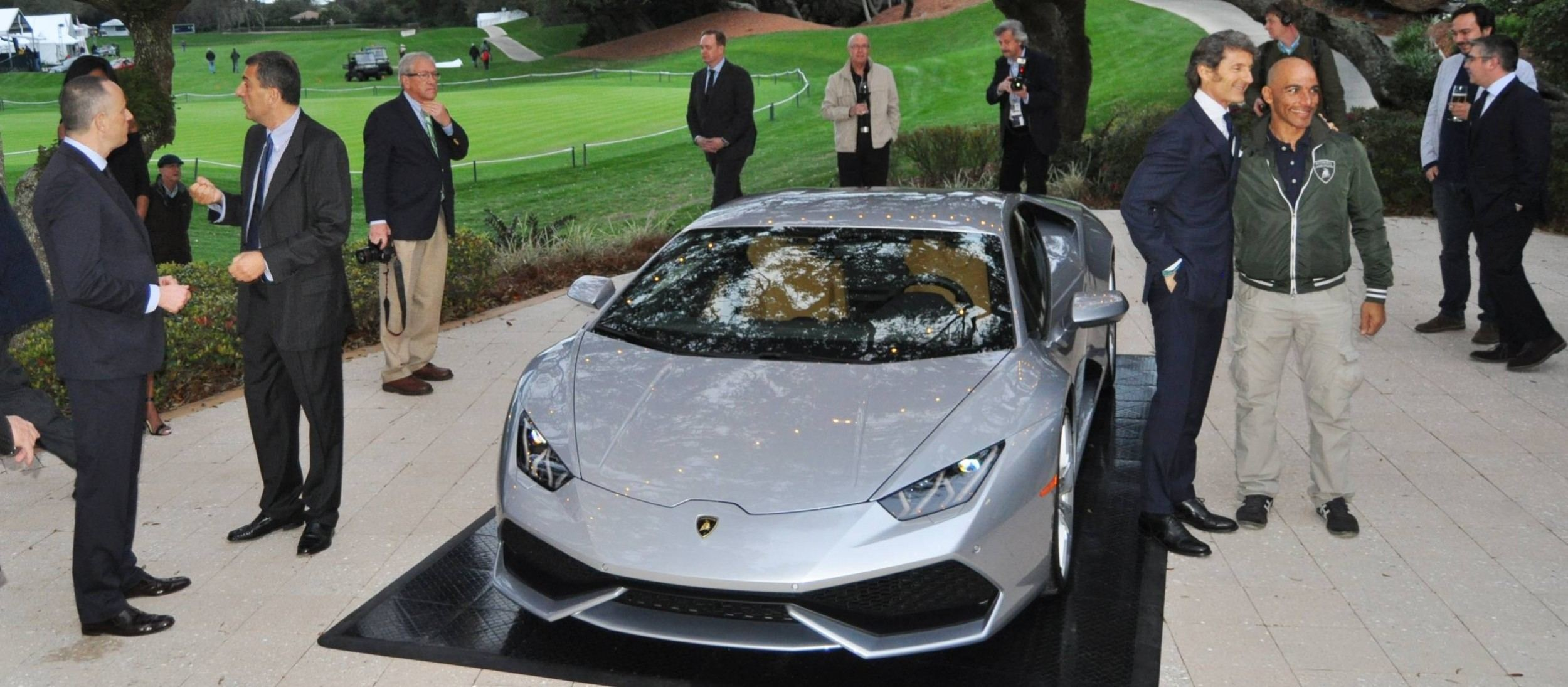 Car-Revs-Daily.com -- 2015 Lamborghini Huracan -- Official American Debut 26