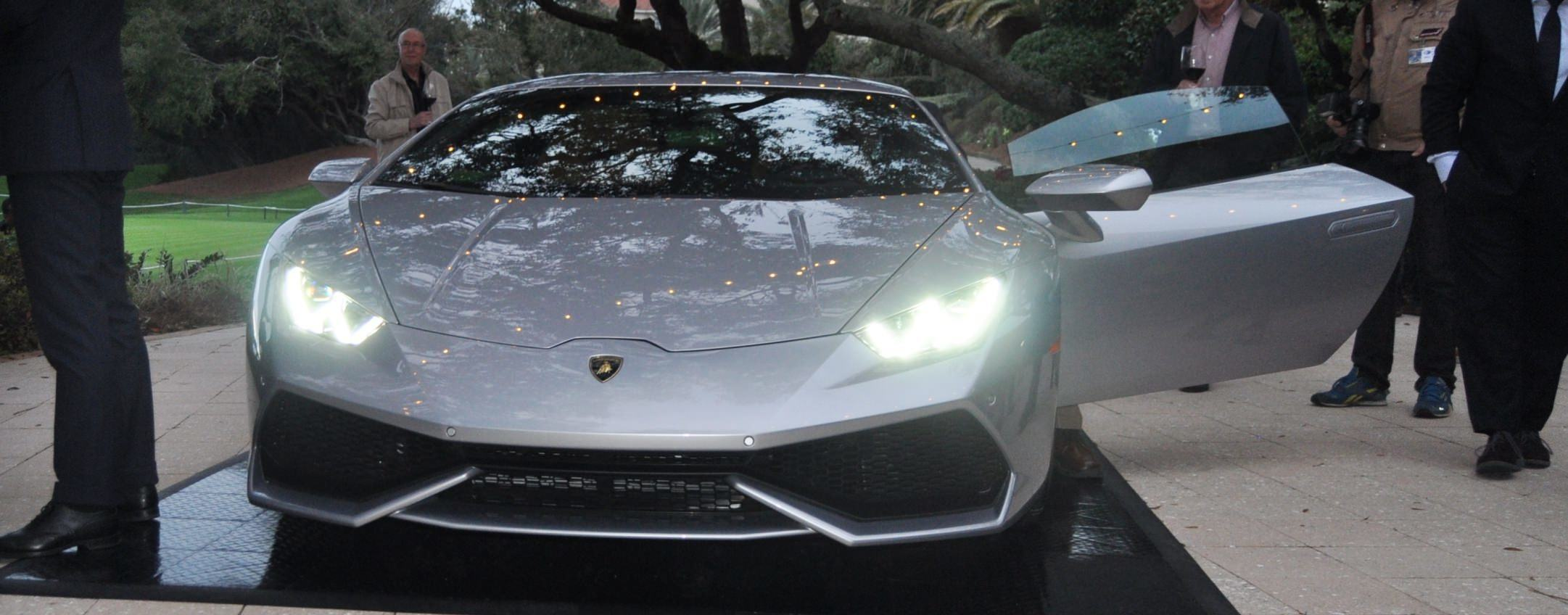 Car-Revs-Daily.com -- 2015 Lamborghini Huracan -- Official American Debut 27