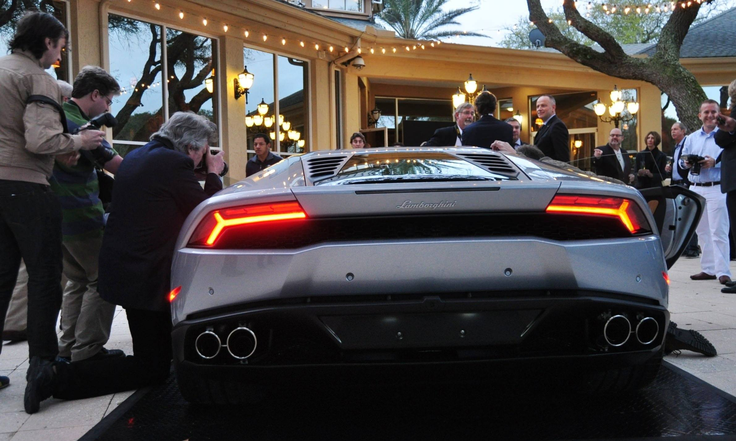 Car-Revs-Daily.com -- 2015 Lamborghini Huracan -- Official American Debut 32