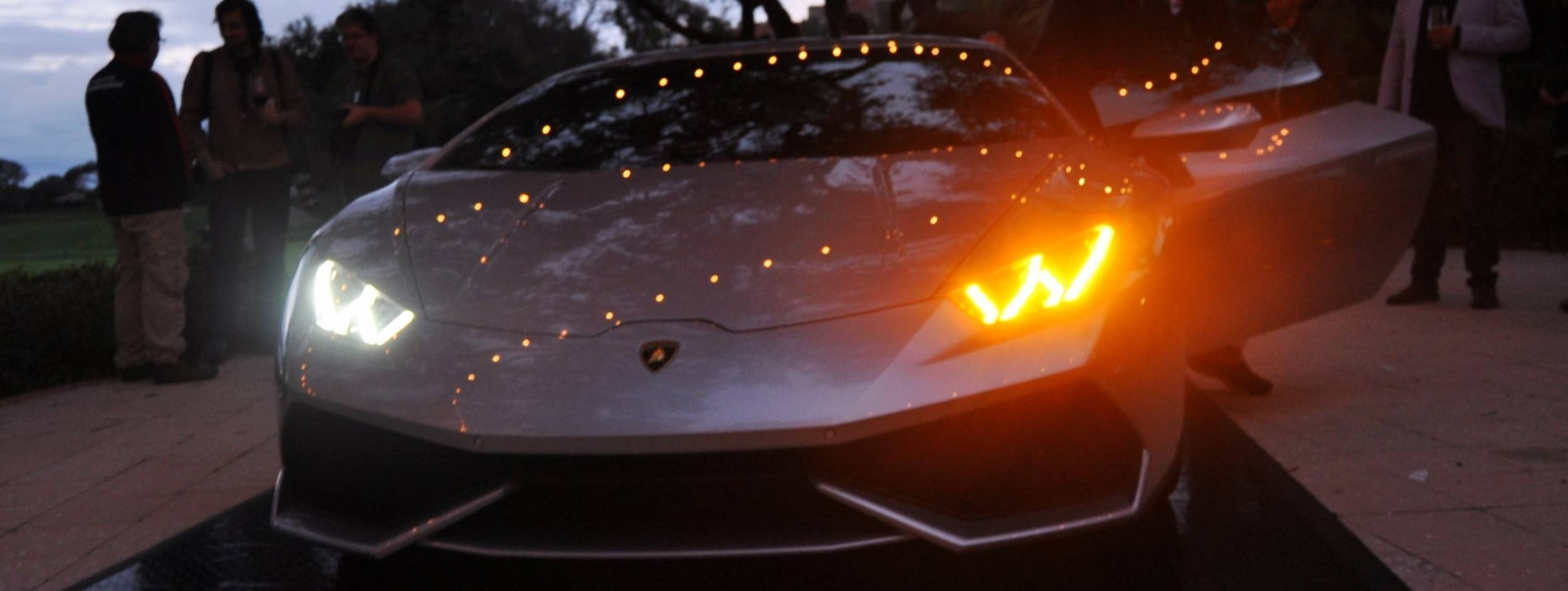 Car-Revs-Daily.com -- 2015 Lamborghini Huracan -- Official American Debut 55