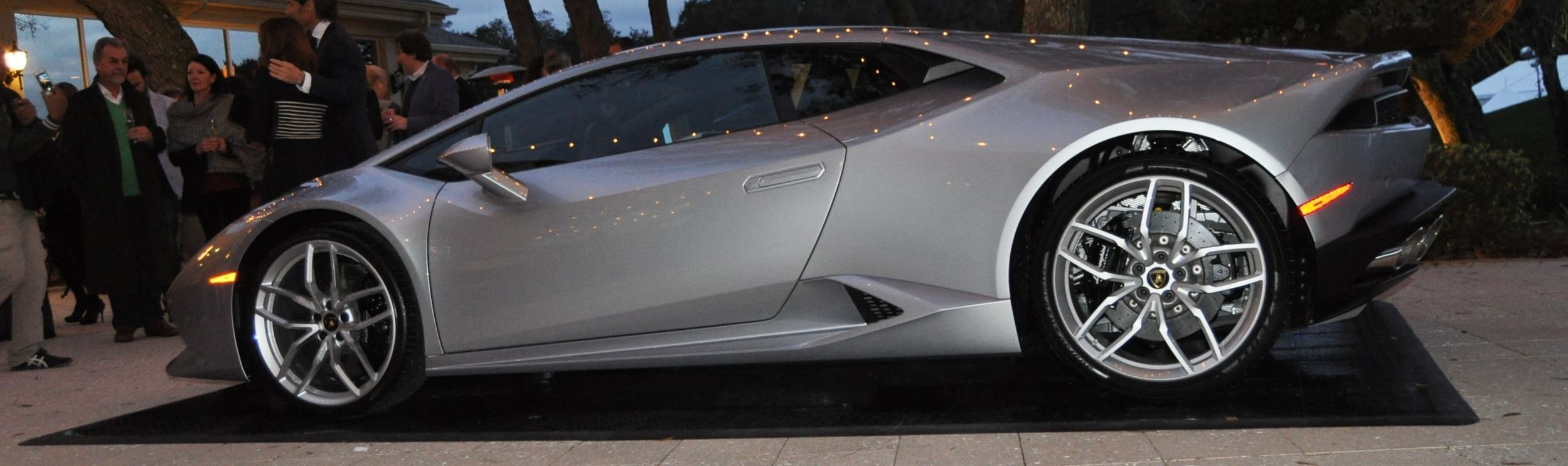 Car-Revs-Daily.com -- 2015 Lamborghini Huracan -- Official American Debut 57
