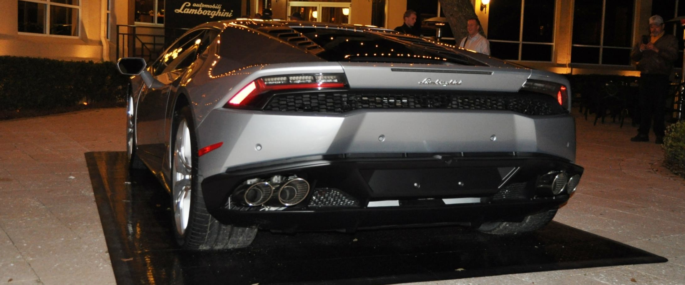 Car-Revs-Daily.com -- 2015 Lamborghini Huracan -- Official American Debut 85