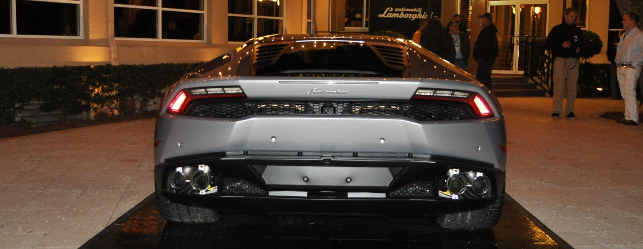 Car-Revs-Daily.com -- 2015 Lamborghini Huracan -- Official American Debut 87
