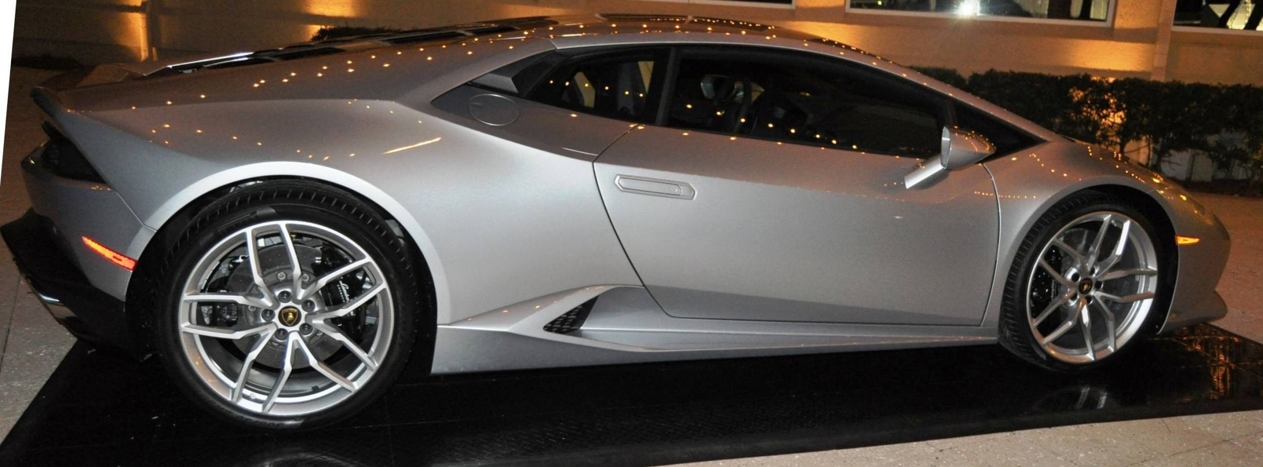 Car-Revs-Daily.com -- 2015 Lamborghini Huracan -- Official American Debut 93