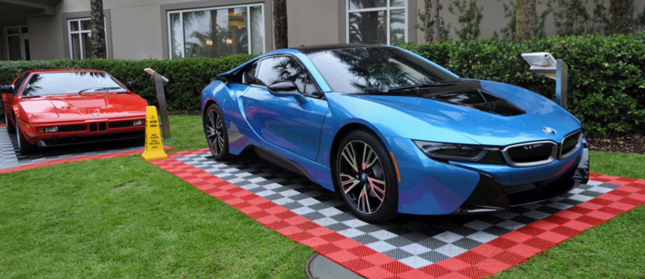 Car-Revs-Daily.com BETA -- DYNAMIC DESKTOP BACKGROUND 2048x888 -- 2015 BMW i8