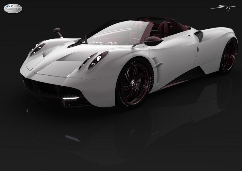 Car-Revs-Daily.com Design Analysis -- PAGANI HUAYRA ROADSTER by Aldo SICA  18