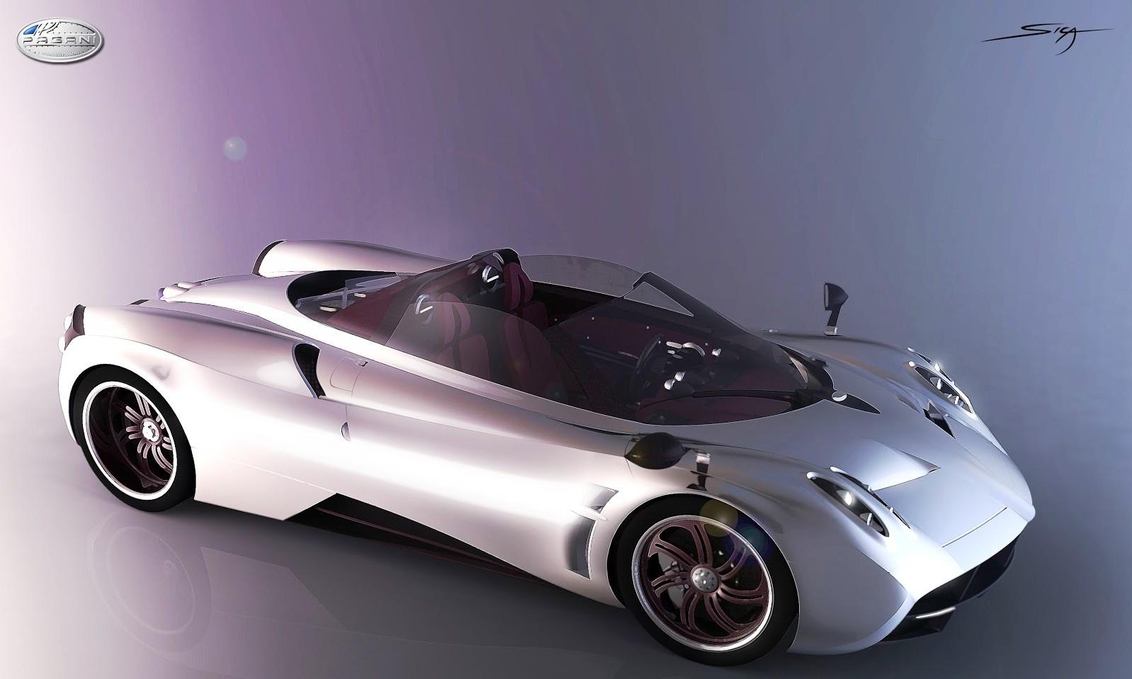 DS pagani huayra roadster : Car-Revs-Daily.com Design Analysis -- PAGANI HUAYRA ROADSTER by ...