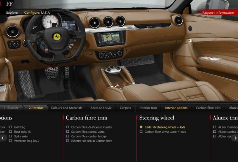 Car-Revs-Daily.com -- Ferrari FF is Monday-Sunday V12 Supercar 118