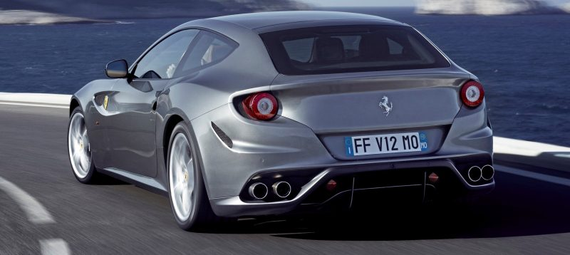 Car-Revs-Daily.com -- Ferrari FF is Monday-Sunday V12 Supercar 203