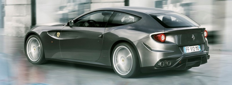 Car-Revs-Daily.com -- Ferrari FF is Monday-Sunday V12 Supercar 214
