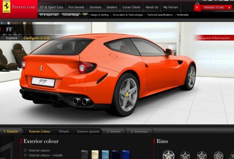 Car-Revs-Daily.com -- Ferrari FF is Monday-Sunday V12 Supercar 36
