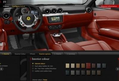 2014 Ferrari Ff Colors