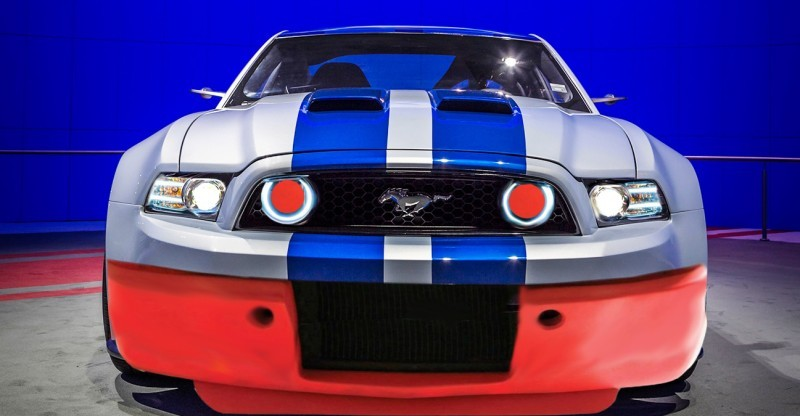 Car-Revs-Daily.com #INAMUSTANG Entry Modern GT350R Indoor Auto Show Group 5