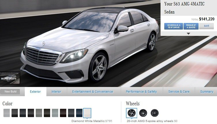 Car-Revs-Daily.com -- Mercedes-Benz S65 and S63 AMG 4MATIC -- Cool Buyers Guide Intel -- 40 Real-Life Photos and Animated Option Visualizers 13