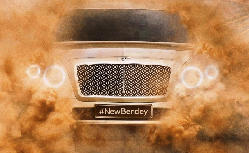 Car-Revs-Daily.com -- #NewBentley SUV First Official Image Plus the EXP 9F Falcon Concept 1