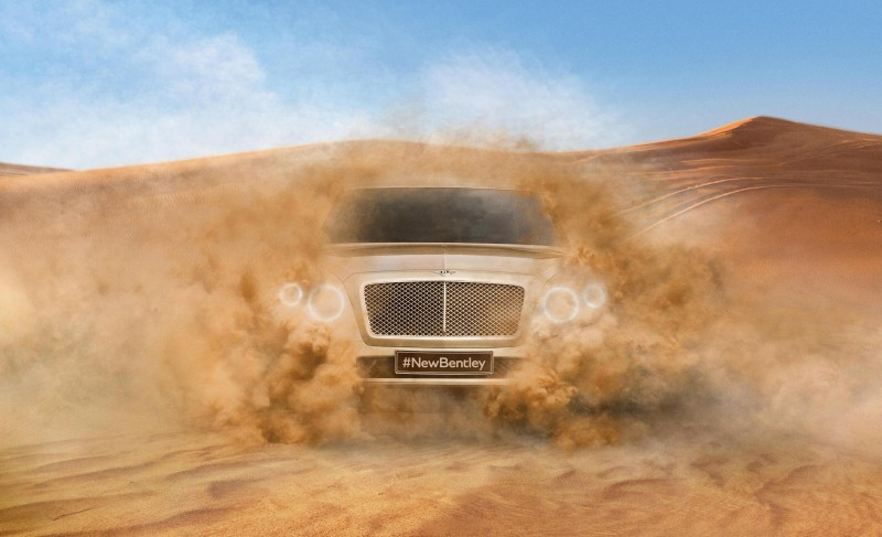 Car-Revs-Daily.com -- #NewBentley SUV First Official Image Plus the EXP 9F Falcon Concept 3