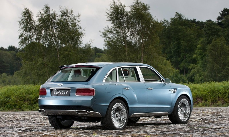 Car-Revs-Daily.com -- #NewBentley SUV First Official Image Plus the EXP 9F Falcon Concept 7