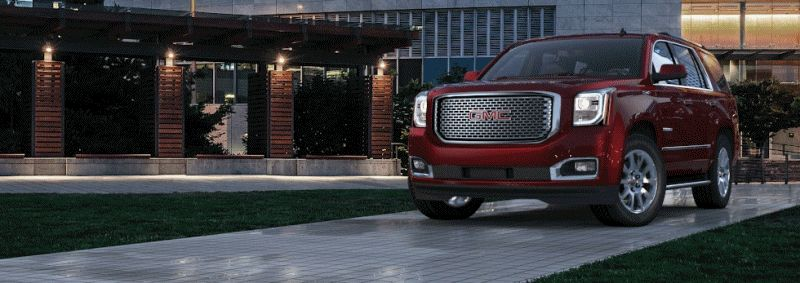 CarRevsDaily - 2015 GMC Yukon XL - Colors - Crystal Red Tintcoat GIF