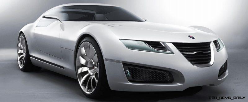Concept to Reality -- 2006 SAAB Aero-X to 2013 SAAB 9-5 Turbo6 Aero XWD 1