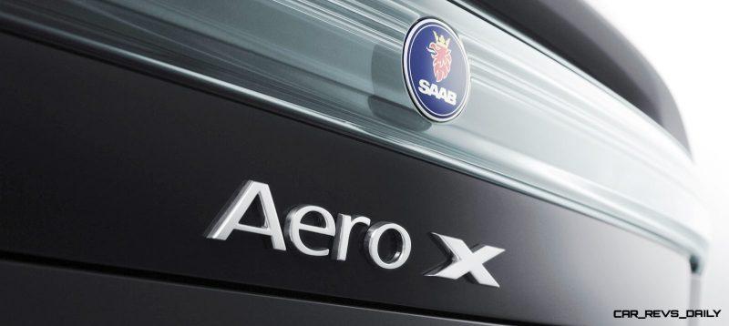 Concept to Reality -- 2006 SAAB Aero-X to 2013 SAAB 9-5 Turbo6 Aero XWD 31