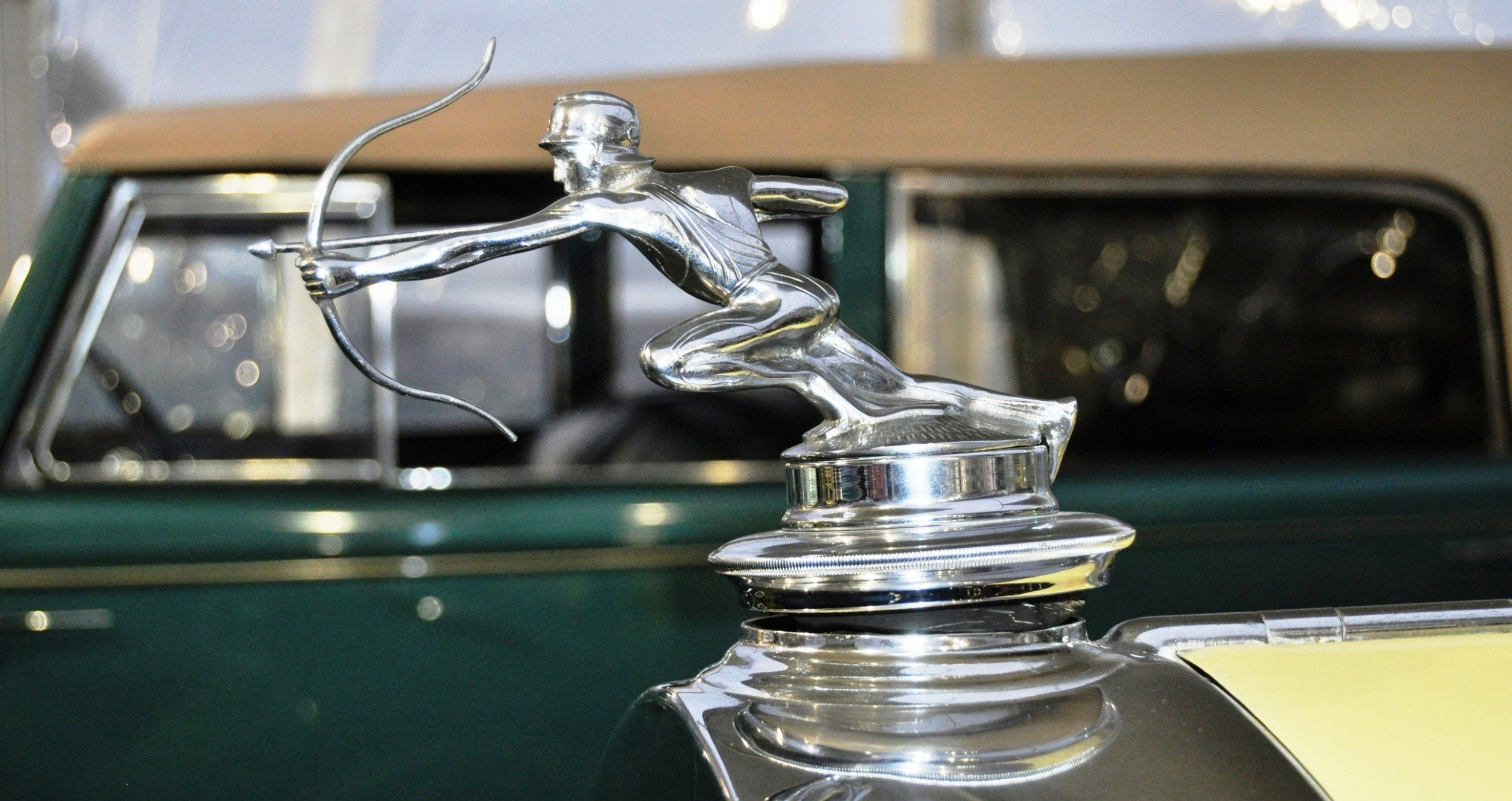 Coolest Vintage Hood Ornaments -- RM Auctions Amelia Island 2014 -- Pierce-Arrow, Cadillac, Stutz, Chrysler, Ford, Aston-Martin, Bentley and More 14