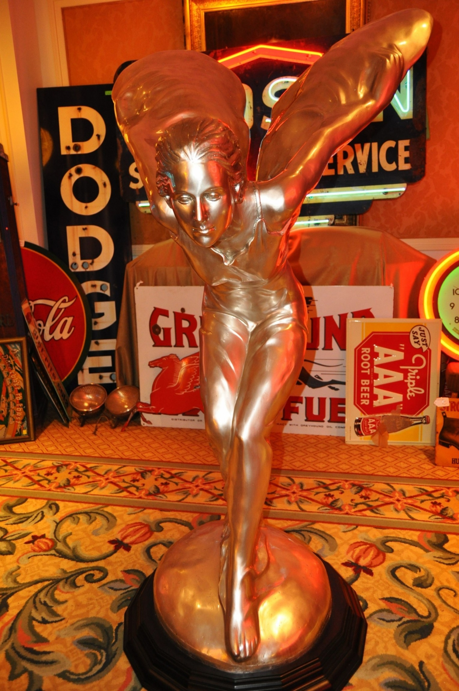 Coolest Vintage Hood Ornaments -- RM Auctions Amelia Island 2014 -- Pierce-Arrow, Cadillac, Stutz, Chrysler, Ford, Aston-Martin, Bentley and More 42