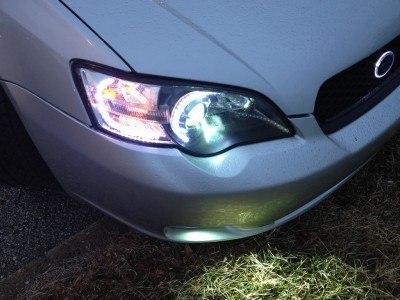 DIY LED Headlights - HID Lowbeams 6X 20cm LED Flexstrips_7191984562_l