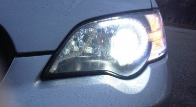 DIY LED Headlights - HID Lowbeams 6X 20cm LED Flexstrips_7191985972_l