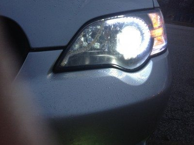 DIY LED Headlights - HID Lowbeams 6X 20cm LED Flexstrips_7191990854_l