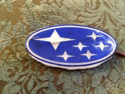 DIY LED Subaru stars emblem_8159088467_l
