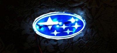 DIY LED Subaru stars emblem_8159122162_l