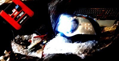 DIY headlights project - rigid industries LED highbeams_8007326267_l