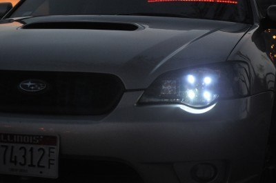 DRL - Subaru Legacy GT DIY LED Headlights v80 -_8193695673_l