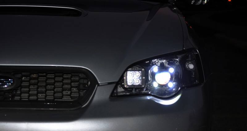DRL - Subaru Legacy GT DIY LED Headlights v80 -_8194780232_l